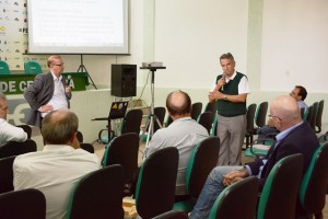 O engenheiro agrônomo, Luis Carlos Oliveira representou a Cesa na reunião